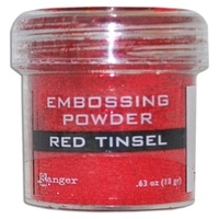 Ranger Embossing Powder 1 Ounce RED TINSEL