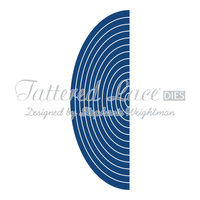 Essentials by Tattered Lace Half Ovals ETL09