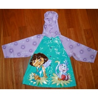 Dora the Explorer PVC Raincoat available in Size 6 to 7