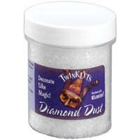 Twinklets Diamond Dust 85gms - finely ground glass, that gives that extra sparkle!