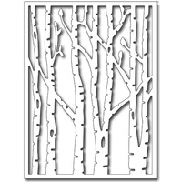 Frantic Stamper Precision Die Vertical Birch Trees FRADIE09274