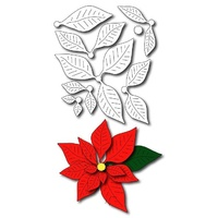 Frantic Stamper Precision Die - Poinsettia FRA-DIE-09283 FREE SHIPPING