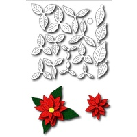 Frantic Stamper Precision Die - Petite Poinsettia FRA-DIE-09284 FREE SHIPPING