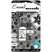 Inkessentials Enamel Accents Black and White
