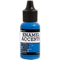 Inkessentials Enamel Accents Blue Ribbon