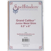 Spellbinders Grand Calibur Junior Metal Shim Plate 8.5x 6 GC016