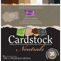 Core'dinations Core Essentials Cardstock Neutrals Pad 12X12 30 sheets
