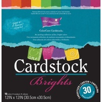 Core'dinations Core Essentials Cardstock Brights Pad 12X12 30 sheets