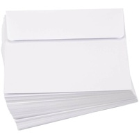 25 White A7 Envelopes 5x7