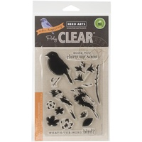 Hero Arts Clear Stamps Color Layering Bird and Branch