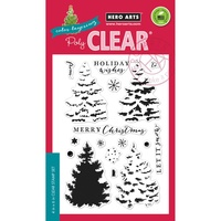 Hero Arts Clear Stamps Color Layering Christmas Tree