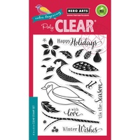 Hero Arts Clear Stamps Color Layering Dimensional Bird