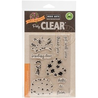 Hero Arts Clear Stamps Color Layering Bouquet