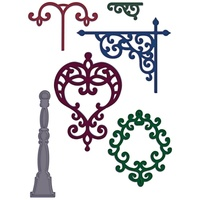 Heartfelt Creations Die Decorative Metal Fixtures FREE SHIPPING