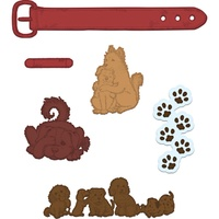 Heartfelt Creations Cut & Emboss Die  Pampered Pooch Pals FREE SHIPPING