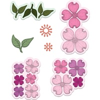 Heartfelt Creations Cut & Emboss Die Flowering Dogwood