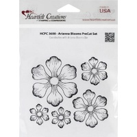 Heartfelt Creations Cling Stamps Arianna Blooms FREE SHIPPING