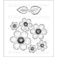 Heartfelt Creations Cling Stamps Botanical Rose FREE SHIPPING
