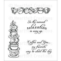 Heartfelt Creations Cling Stamps All Stacked Up FREE SHIPPING