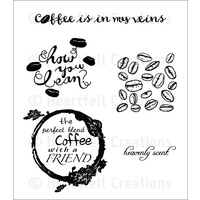 Heartfelt Creations Cling Stamps Perfect Blend FREE SHIPPING