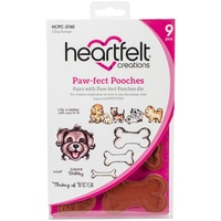 Heartfelt Creations Cling Stamps Paw-Fect Pooches FREE SHIPPING