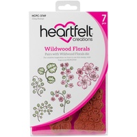 Heartfelt Creations Cling Stamps Wildwood Florals FREE SHIPPING