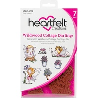 Heartfelt Creations Cling Stamps Wildwood Cottage Darlings FREE SHIPPING