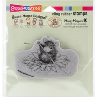 Stampendous Mouse Cling Stamps Petal Paddler