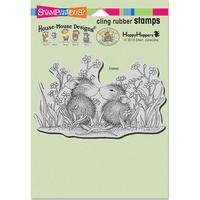 Stampendous Cling Rubber Stamps Garden Kiss