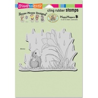 Stampendous Cling Rubber Stamps Crocus Droplet