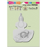 Stampendous Cling Rubber Stamps Catching Rays