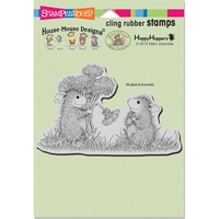 Stampendous Cling Rubber Stamps - Dandelion Bouquet FREE SHIPPING