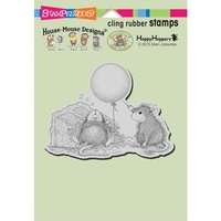 Stampendous Mouse Cling Stamps Birthday Mischief