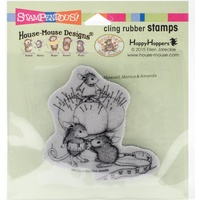 Stampendous Mouse Cling Stamps Tiny Tailor