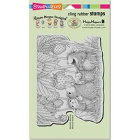 Stampendous Cling Rubber Stamps Strawberry Treat