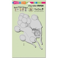 Stampendous Cling Rubber Stamps Helium Ride