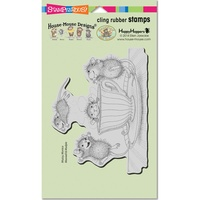Stampendous Cling Rubber Stamps Coffee Crazy