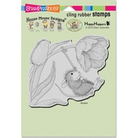 Stampendous Cling Rubber Stamps Spring Swing