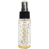 Imagine Crafts Sheer Shimmer Spritz Spray 59ml Gold