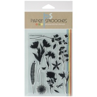 Paper Smooches Stamps Botanicals 1