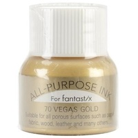 Tsukineko All Purpose Ink for Fantastix 15ml 70 Vegas Gold