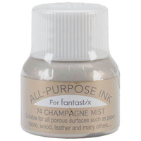 Tsukineko All Purpose Ink for Fantastix 15ml 74 Champagne Mist
