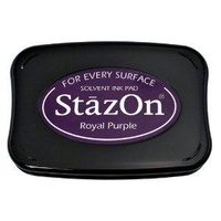 StazOn Ink Pad Royal Purple