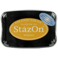 StazOn Craft Ink  Mustard