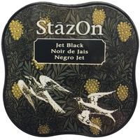 StazOn Craft Ink Pad Midi Jet Black