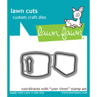 Lawn Fawn Cuts Year Three Dies LF1014