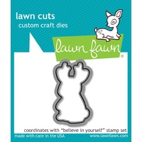 Lawn Fawn Cuts Believe in Yourself Dies LF1043 FREE SHIPPING