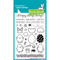 Lawn Fawn Stamps Chirpy Chirp Chirp LF1046