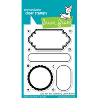 Lawn Fawn Stamps Just for You Labels LF1132