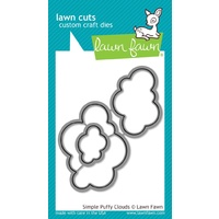 Lawn Fawn Cuts Simple Puffy Clouds Dies LF1186 FREE SHIPPING